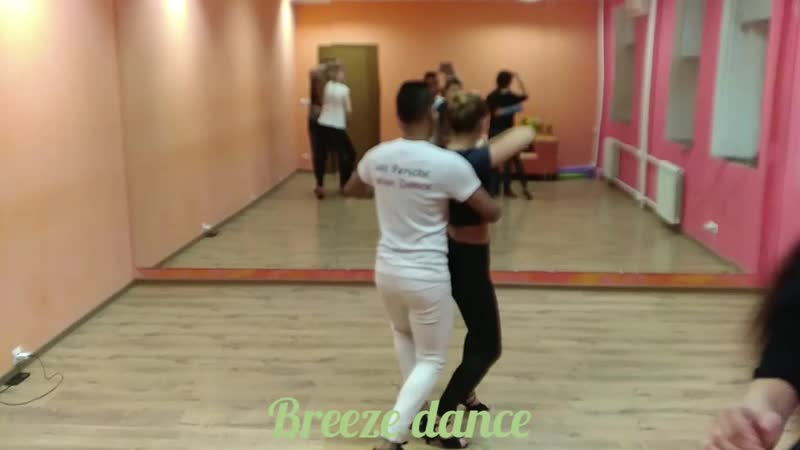 Bachata sensual с Луисом Периче в Breeze dance