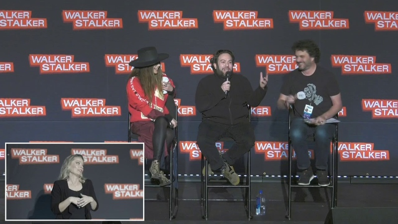The Walking Dead Nadia Hilker Dan Fogler WSC NJ 2018