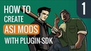How to create ASI mods with plugin-sdk for GTA - Part 1 - Installation
