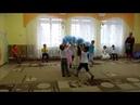 Веселый танец с султанчиками Дождик в подготовительной группе Осенний утренник