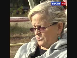 Женщина поселилась на детской площадке под окнами своей дочери