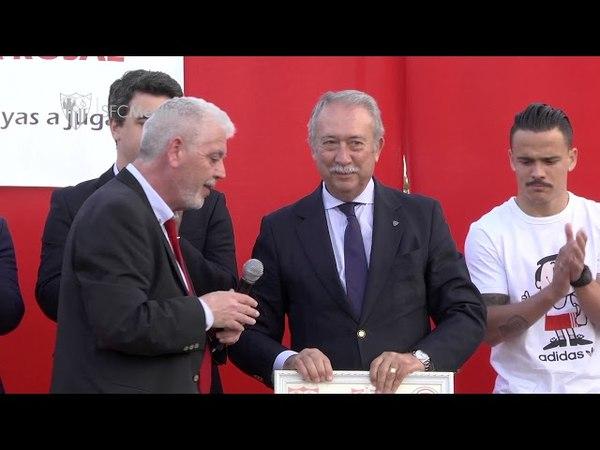 X aniversario de la PS Cañada del Rosal 17518. Sevilla FC