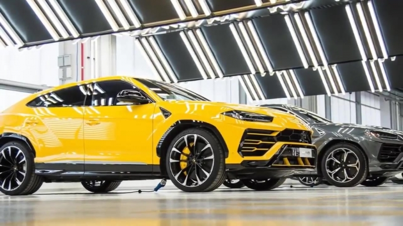 2019 Lamborghini Urus with luxurious space for up to five occupants