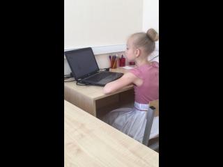 Диана, 8 лет. Правило «Просто», 10 действий , одновременно с песней!
