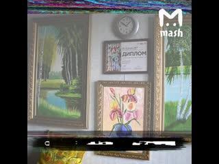 Инвалид-художник выставит картины на аукцион, чтобы съездить в Астану к подруге