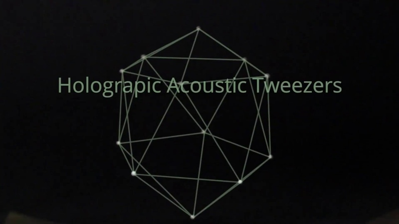 Holographic acoustic tweezers | Paper