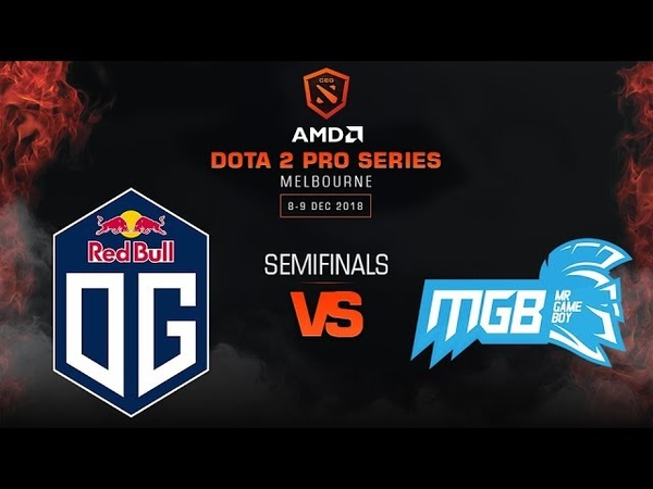 OG vs Mr Game Boy Game 2 - AMD Dota 2 Pro League: Semifinals w/ Basskip, r1sk