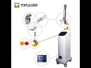 Фракционный лазер ТОPLASER CO2-1A Часть 1