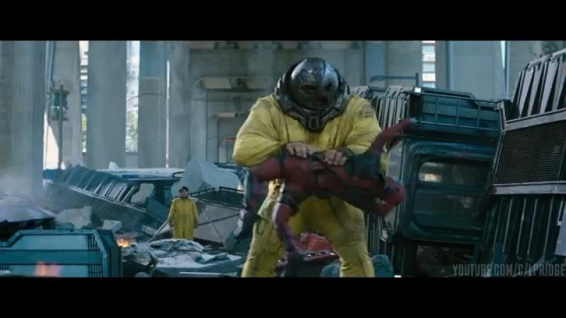 Deadpool 2 Marvel. Дэдпула разрывает Джаггернаут