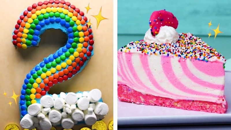 The Final CAKEdown! Easy Cutting Hacks to Make Number Cakes   Easy Cake Decorating Ideas by So Yummy
