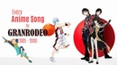 Every Anime Song by GRANRODEO (2005-2018)
