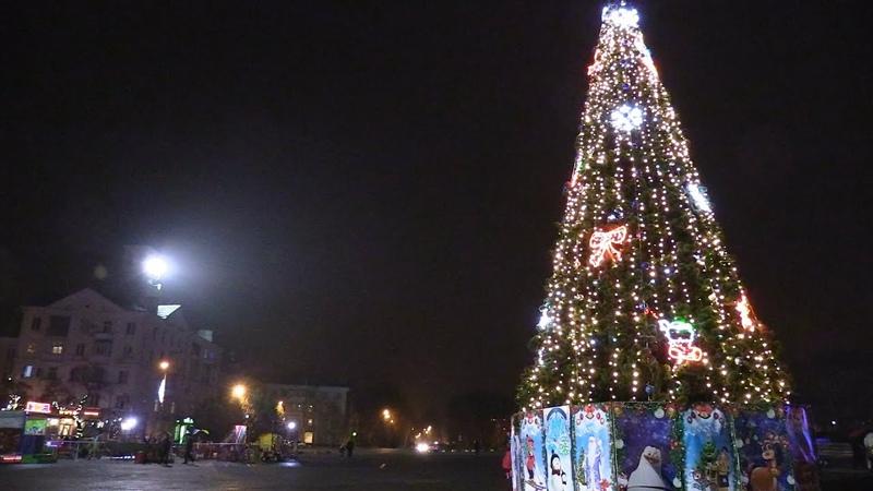 На обновленной площади Краматорска вскоре появится городская елка