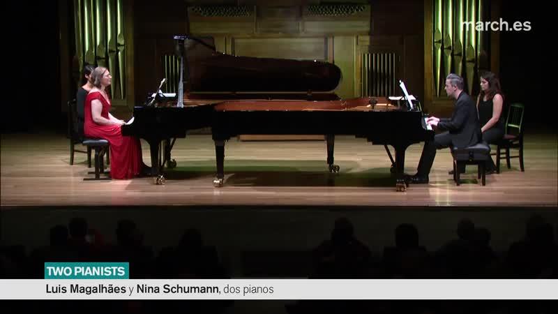 988 J. S. Bach / Rheinberger / Reger- Goldberg-Variationen, BWV 988 (transc. for 2 pianos) - Luis Magalhaes Nina Schumann