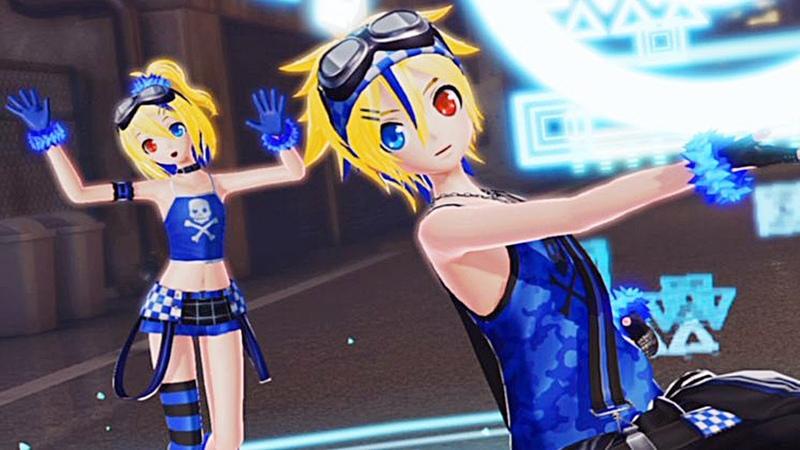 PV Giga remix Kagamine Rin Len Hatsune Miku Project Diva X