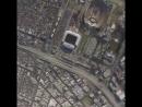 Прыжок с парашютом прямо на арену Лос-А́нджелеса