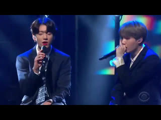 The rap of yoongi and the harmonies of jungkook  it is the most cute that i have heard @bts_twt