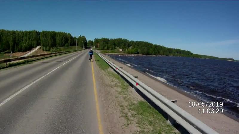 По дороге в Чкаловск