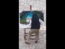 Художник что рисует шторм 😊😊😊