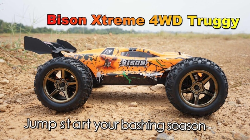 Vkar Racing Bison Xtreme Brushless 4WD Electric RC Truggy