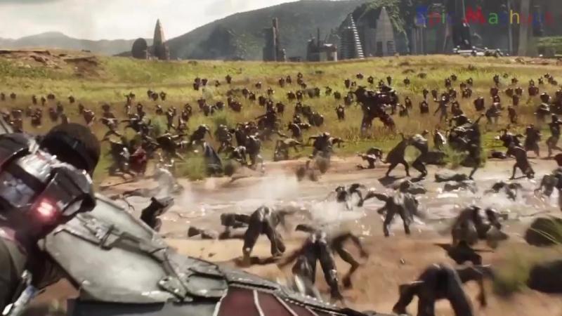 Мстители: Война Бесконечности - Как менялись Чедвик Боузман и Летиша Райт / Avengers- Infinity War - Black Panther And Shuri