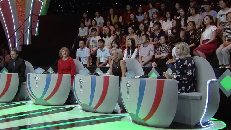 В первой части финала — «Города Китая», занявший 3 место Цзян Чао выступает с речью: «Это Суйфэньхэ».