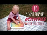 10 Simple Sensory Activities for Toddlers DIY Baby Entertainment