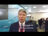 Борцовские юрты из Бурятии презентовали на Восточном экономическом форуме