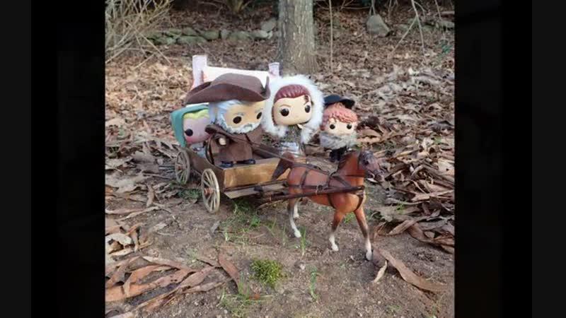 Фан-клип с куклами РОР к серии 4х10 Глубоко в сердце