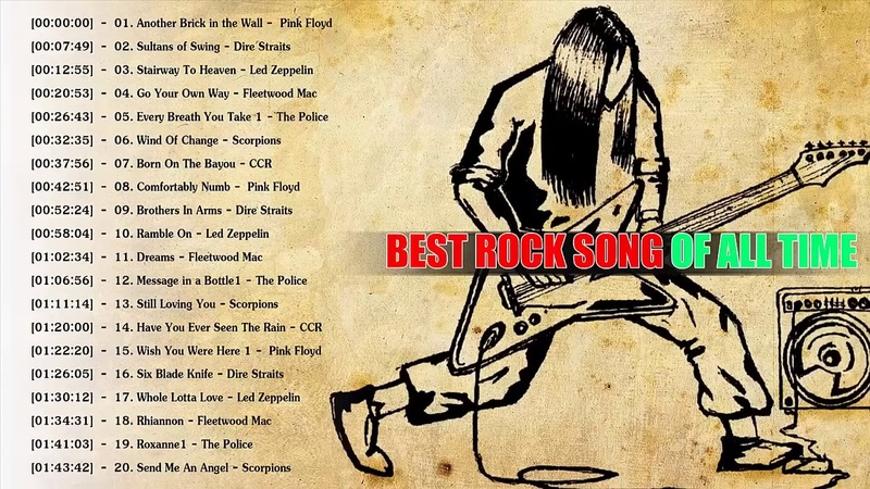 Pink Floyd,Dire Straits,Led Zeppelin,Fleetwood Mac,The Police,Scorpions,CCR Greatest Hits cover