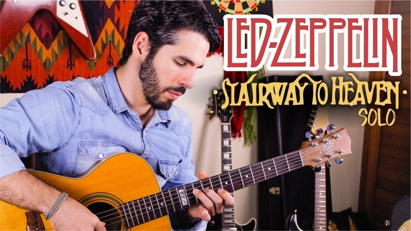 STAIRWAY TO HEAVEN Solo LED ZEPPELIN LUCAS IMBIRIBA