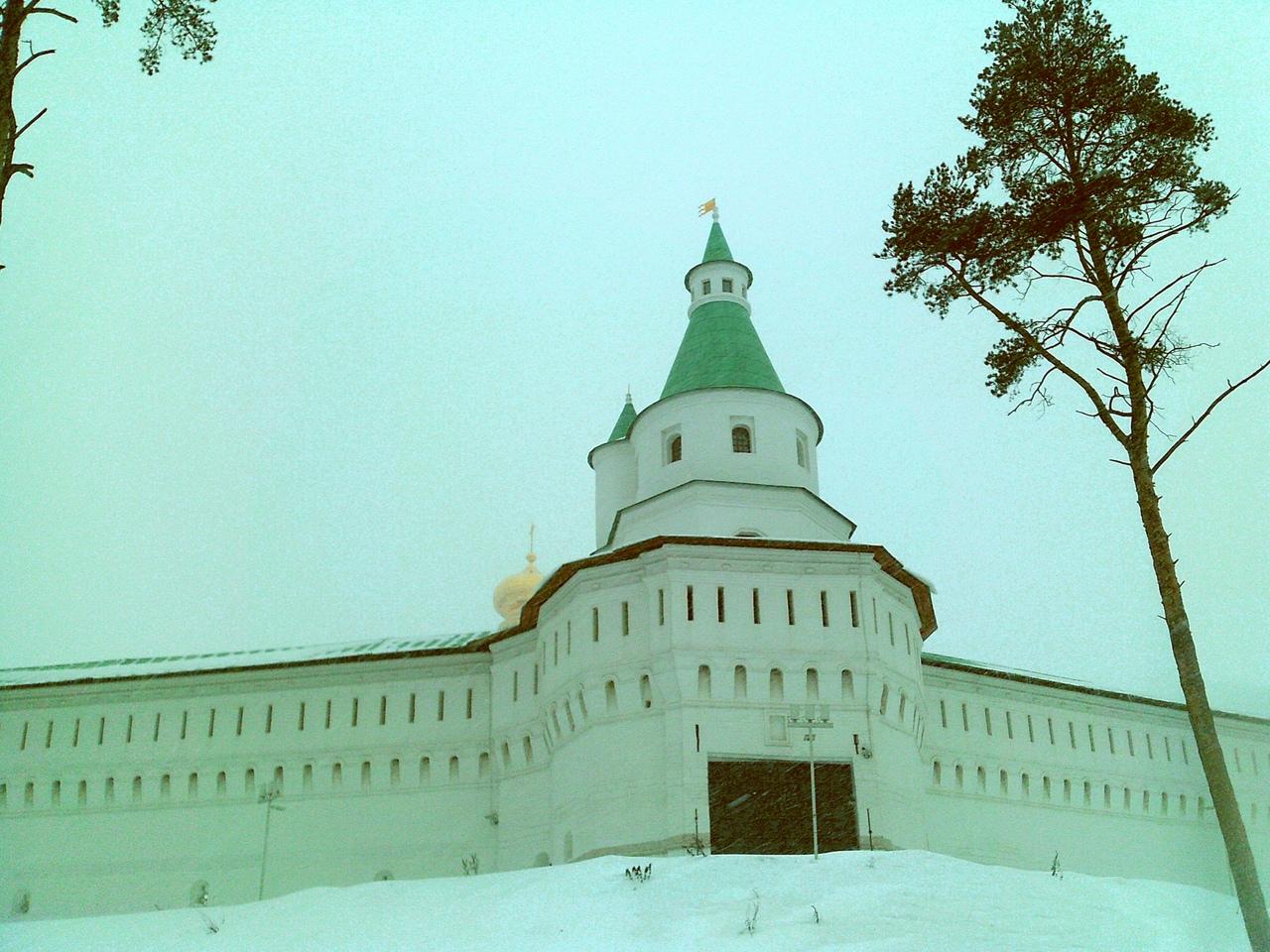 Город Истра. Новый Иерусалим. Монастырь-крепость с библейскими святынями