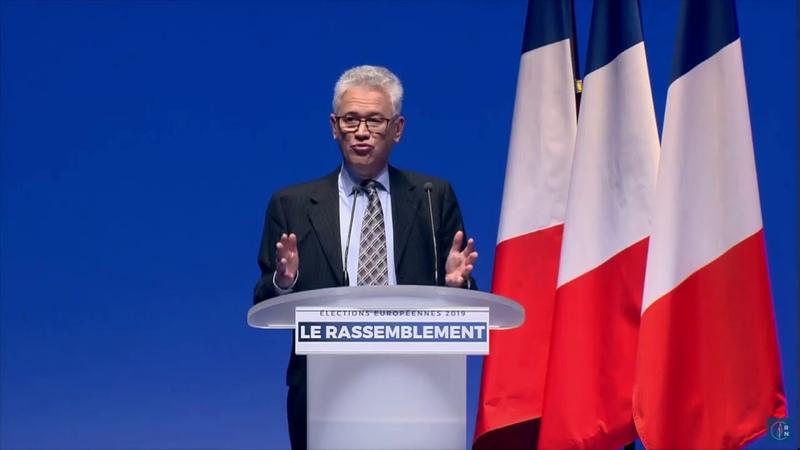 Grande convention des élections européennes : discours de Hervé Juvin