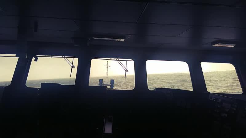 Ballast condition in Atlantic Ocean