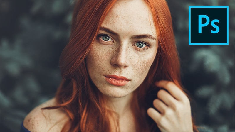 Enhance Freckles with 2 Sliders! 1-Minute Photoshop