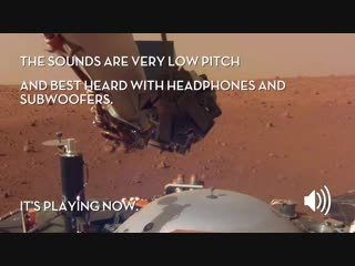 Sounds of Mars_ NASA's InSight Senses Martian Wind