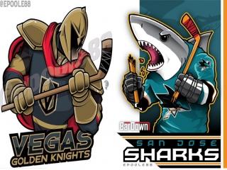 NHL Preseason   Vegas Golden Knights vs San Jose Sharks