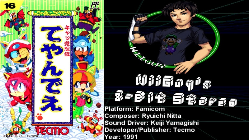 Samurai Pizza Cats [Kyattou Ninden Teyandee] (FC) Soundtrack - 8BitStereo
