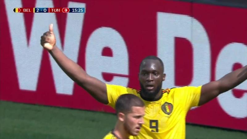 Belgica 5-2 Tunez Resumen del partido - FIFA World Cup 2018 (Grupo G)
