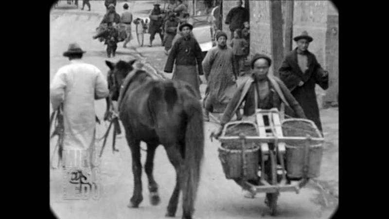 Mar 10, 1929 - Street Scenes in Nanking, China (real sound)