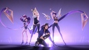 K DA POP STARS ft Madison Beer G I DLE Jaira Burns Official Music Video League of Legends