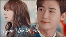Eun ho dan i ✗ If that's love I guess I love her then romance is a bonus book