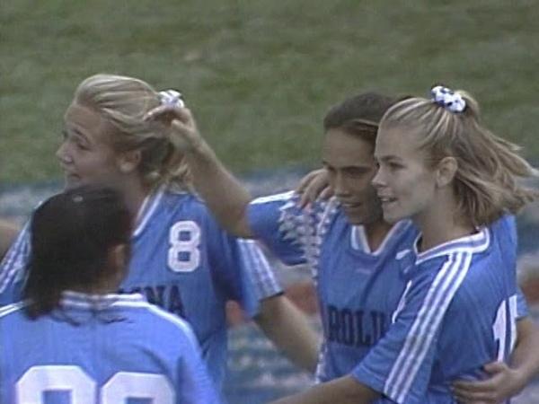 1994 NCAA Womens Soccer Final ⚽ UNC vs. Notre Dame (Part 3)