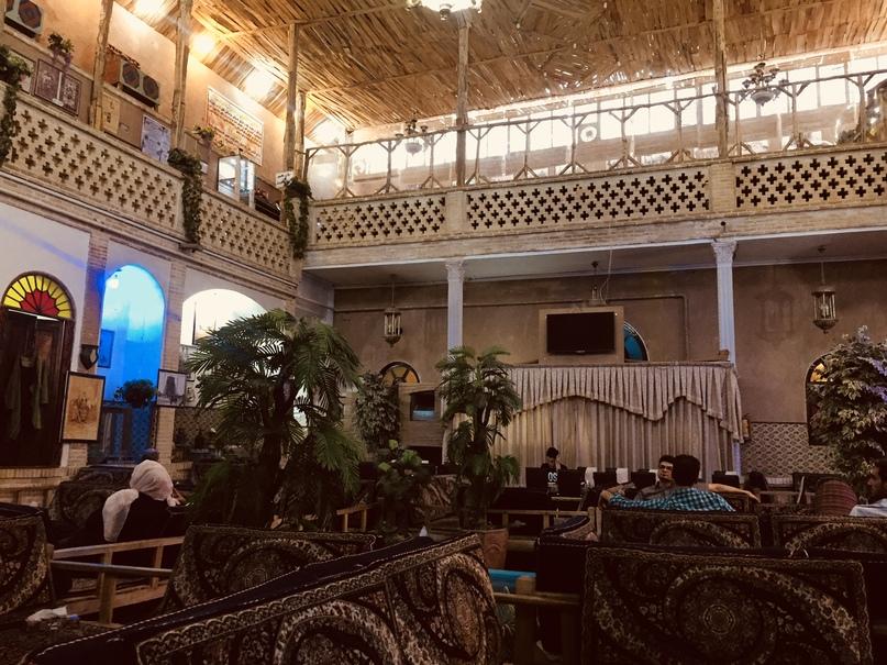 Другой исторический дом-ресторан. Путешествие в Иран