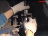 Мазда 3 замена задних тормозных колодок своими руками