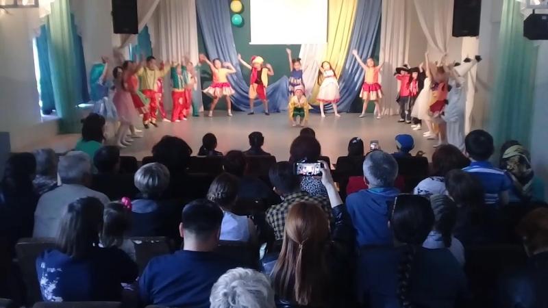Танец Буратино!