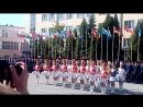 Выступление барабанщиц на Присяге 2018 г