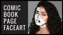 HOW TO: Comic Inspired Pop Art Makeup Tutorial || NYX FACE AWARDS INDONESIA 2018 Submission