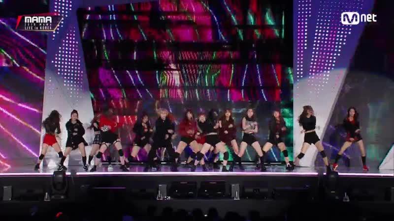 [2018 MAMA PREMIERE in KOREA] NATURE (네이처) GWSN (공원소녀) OUTRO DANCE Perf.