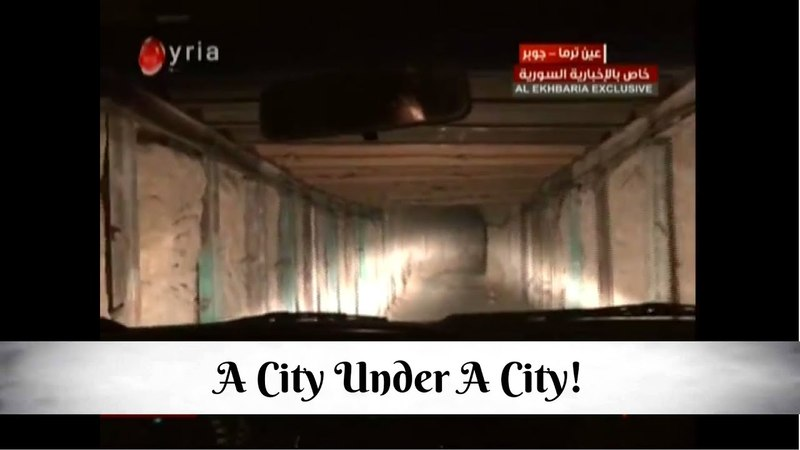 The SAA discovered a city under a city in Eastern Ghouta!