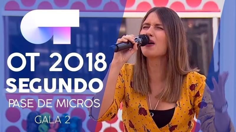 BENDITAS FERIDAS - SABELA   Segundo pase de micros Gala 2   OT 2018